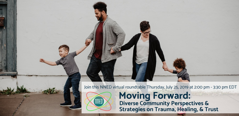Moving Forward NNED Virtual Roundtable invitation